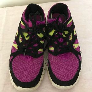 huge selection of d287a 868c2 clearance womens nike free run 2 purple yellow 39796 1edc8